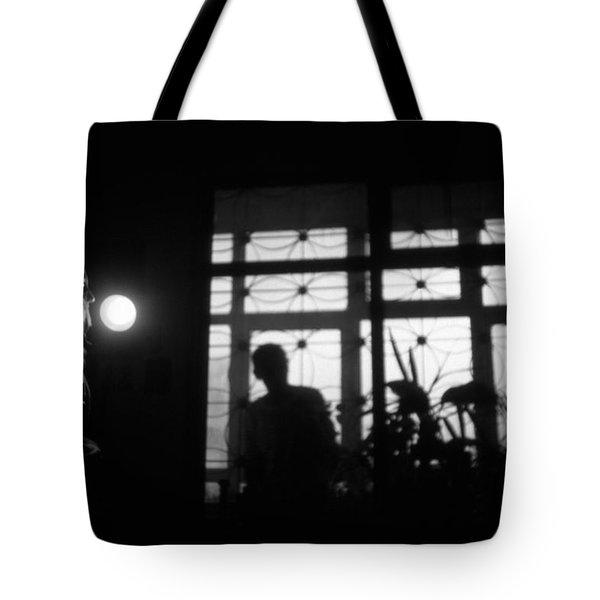 Fear Of The Dark Tote Bag by Taylan Apukovska
