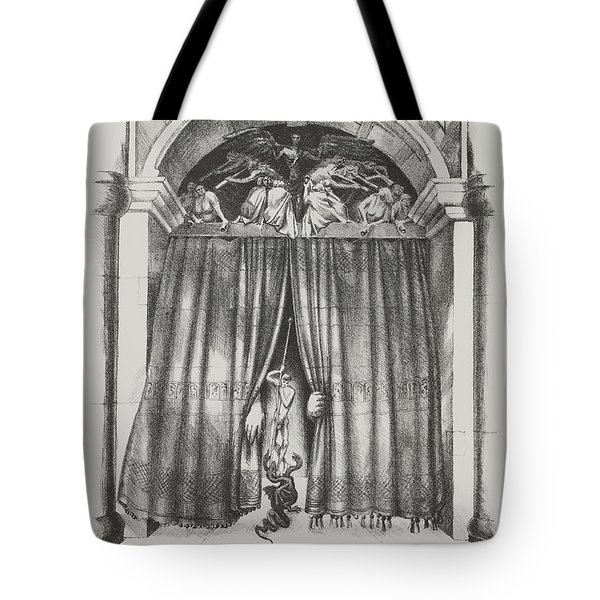 Fear's Overture Tote Bag by Yvonne Wright
