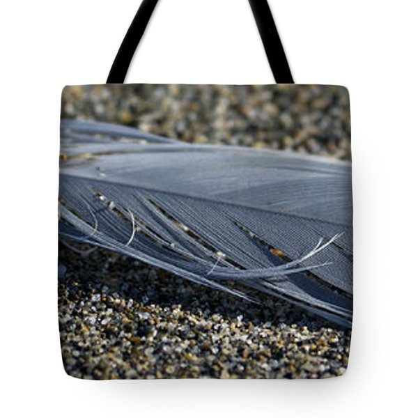 Feather And Sand Tote Bag