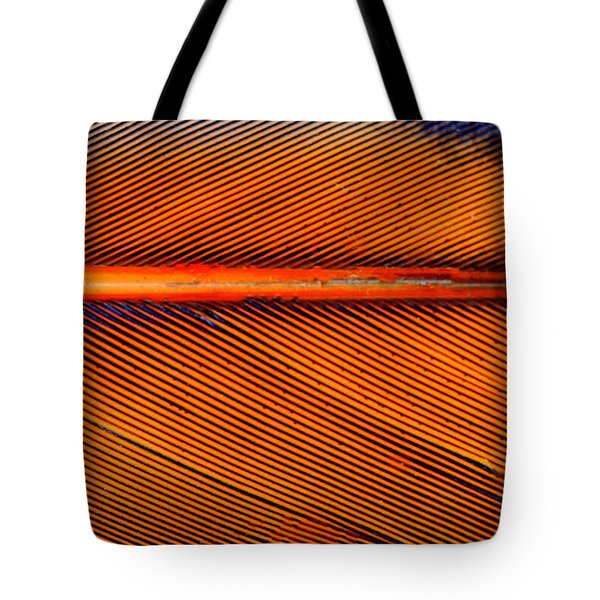 Feather Of A Flicker Tote Bag
