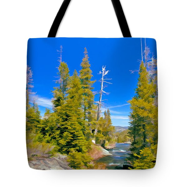 Feather River Tote Bag