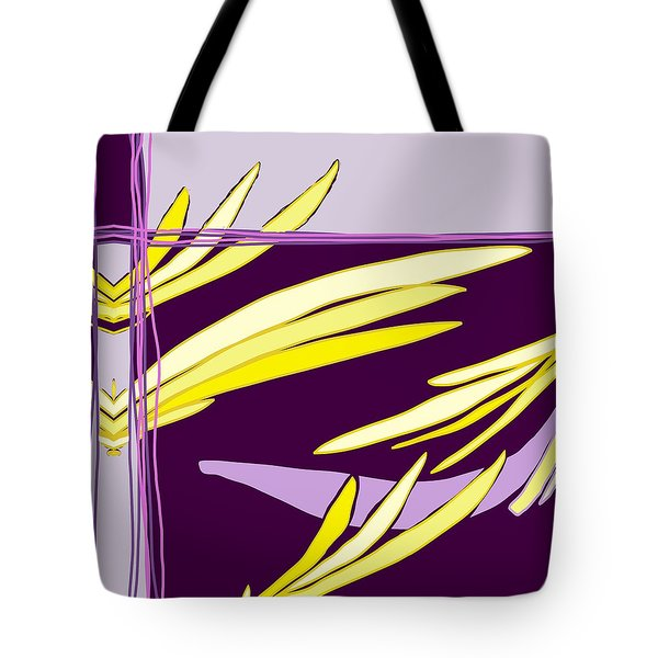 Featherbed Fracture Tote Bag
