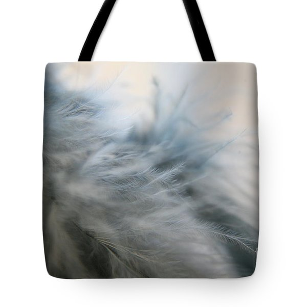 Feathered  Tote Bag by Lynn England
