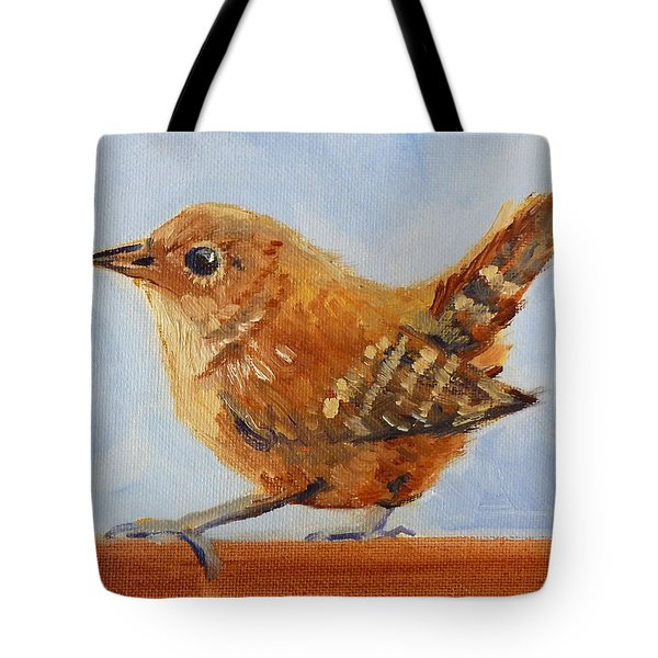Feathered Tote Bag