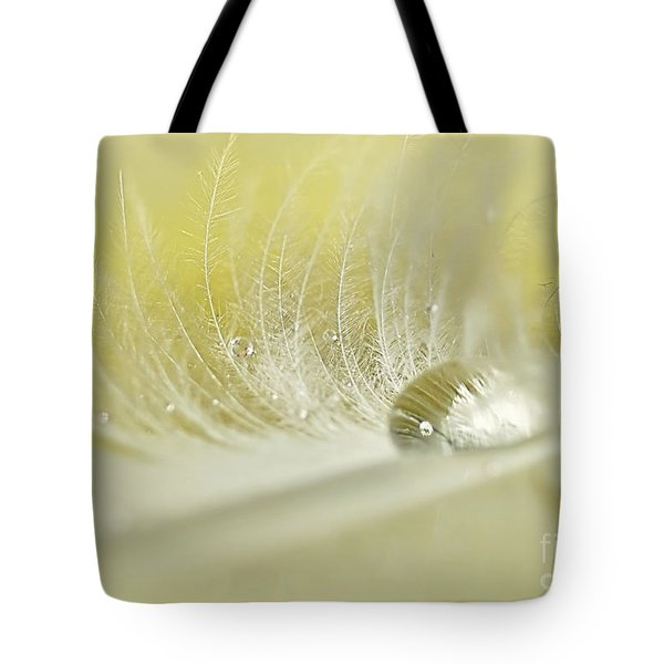 Feathered Softness Tote Bag by Kaye Menner