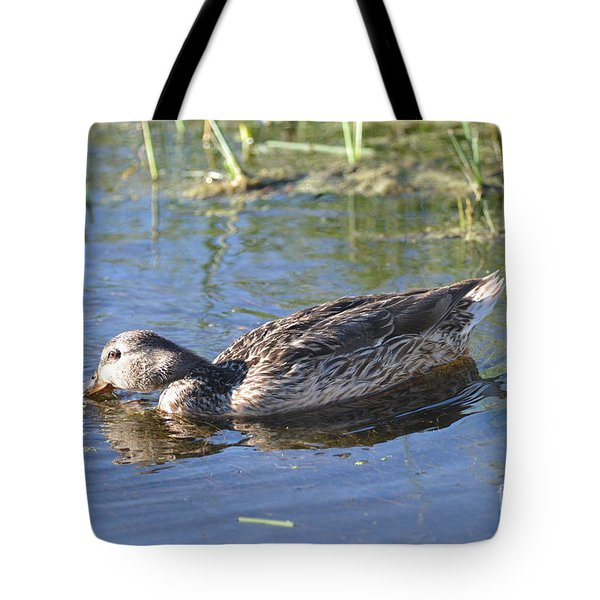Feathers And Light Tote Bag by Laurianna Taylor
