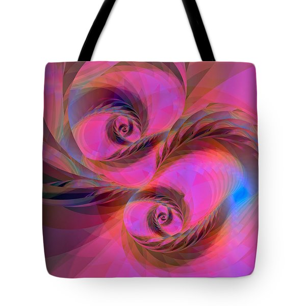 Feathers In The Wind Tote Bag by Judi Suni Hall