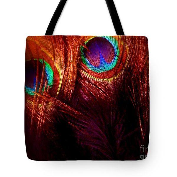 Feathers Tote Bag by Newel Hunter