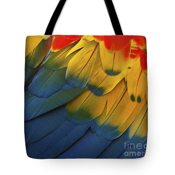 Feathery Details... Tote Bag by Nina Stavlund