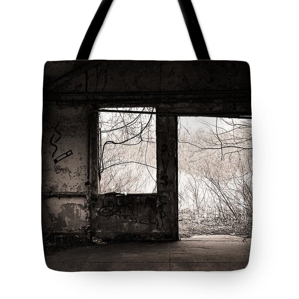 February - Comfortable Seclusion - Self Portrait Tote Bag by Gary Heller