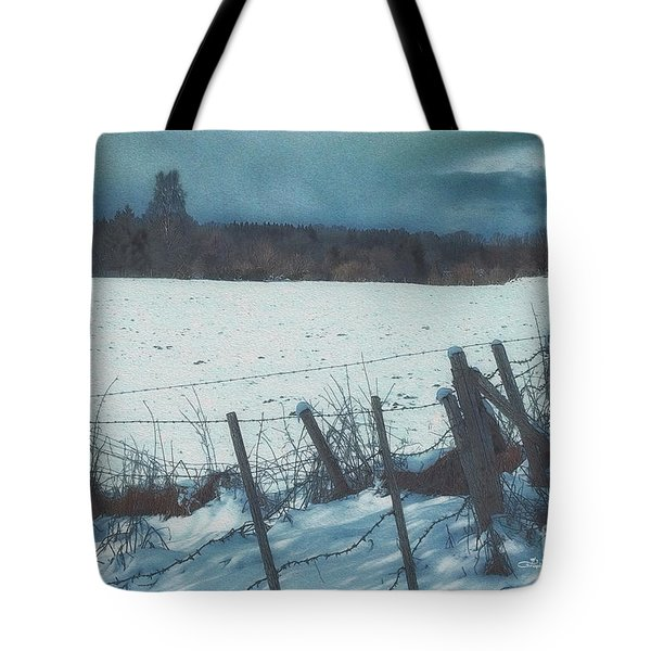 February Tote Bag by Jutta Maria Pusl