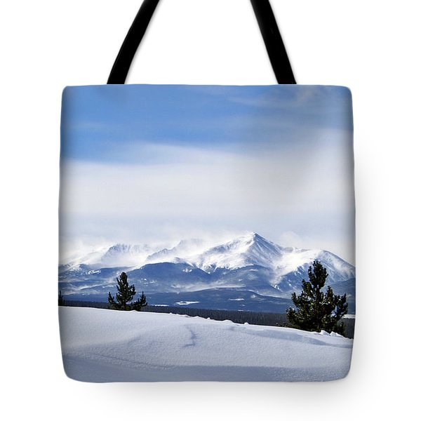 February Wind Tote Bag