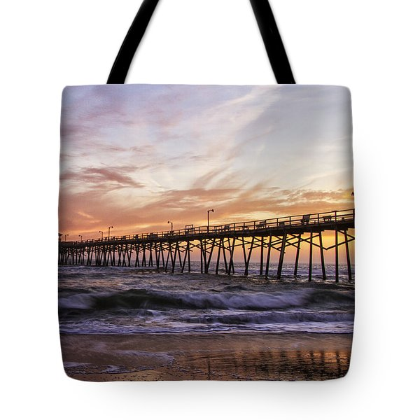 Febuary Sunset On Atlantic Beach Tote Bag