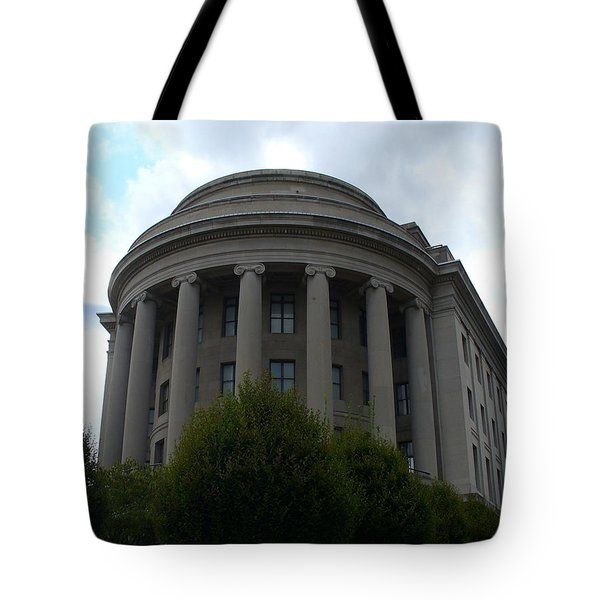 Federal Trade Commission Tote Bag by Lingfai Leung