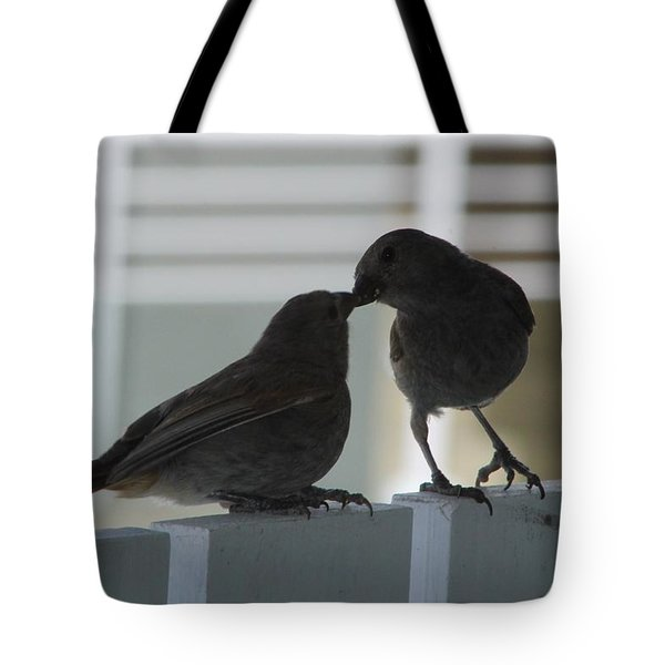 Feed Me Tote Bag by Catie Canetti
