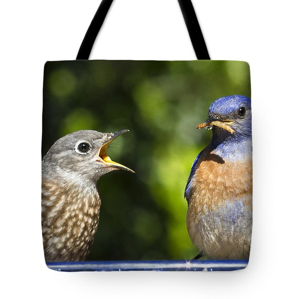 Feed Me Tote Bag by Jean Noren