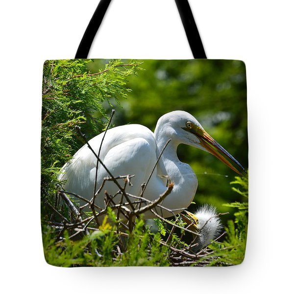 Tote Bag featuring the photograph Feed Me Mom by Judith Morris