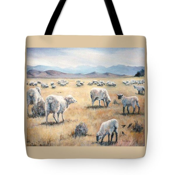 Feed My Sheep Tote Bag