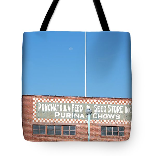 Tote Bag featuring the photograph Feed Store by Charlotte Schafer