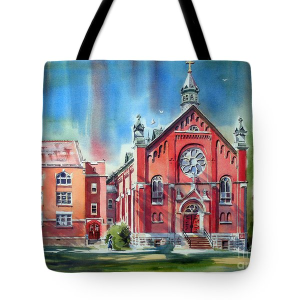 Feed The Birds IIi Tote Bag