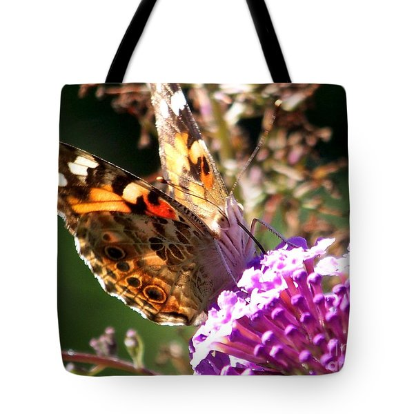 Feeding Tote Bag by Eunice Miller