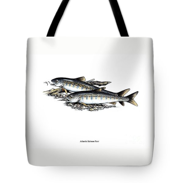 Feeding Parr Tote Bag