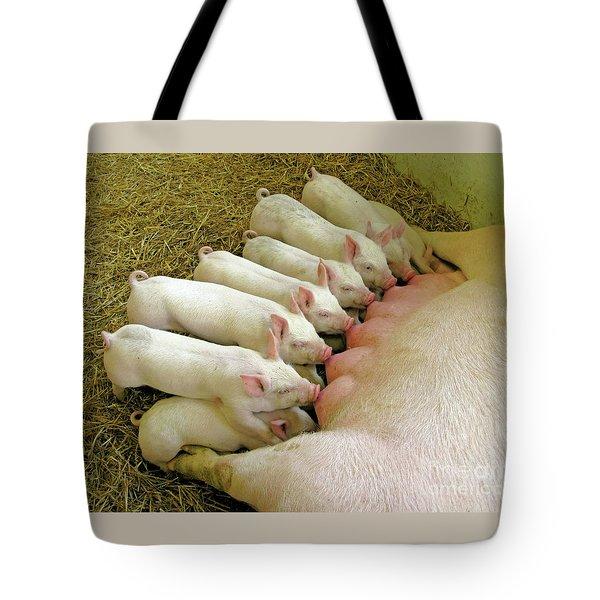 Feeding The Family Tote Bag