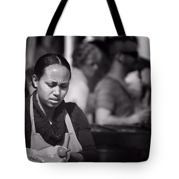 Tote Bag featuring the photograph Feeding The Multitudes by Wallaroo Images