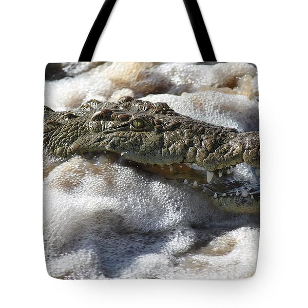 Feeding Time All Profits Go To Hospice Of The Calumet Area Tote Bag