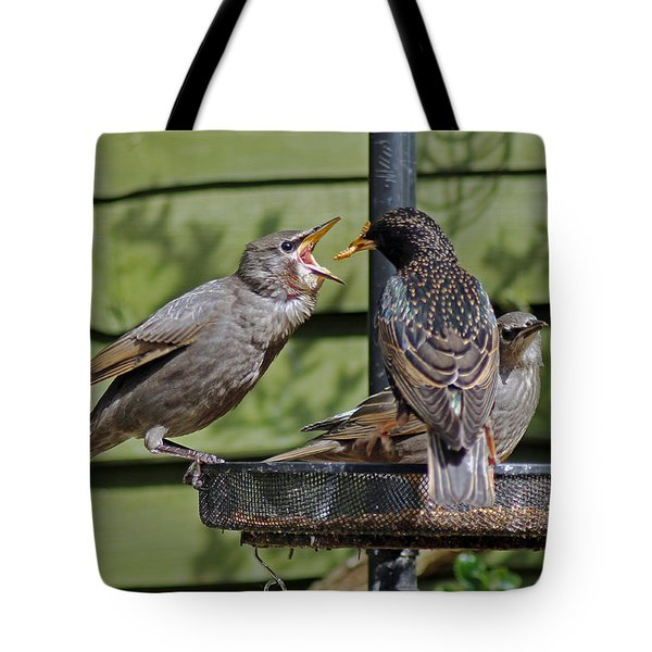 Feeding Time Tote Bag