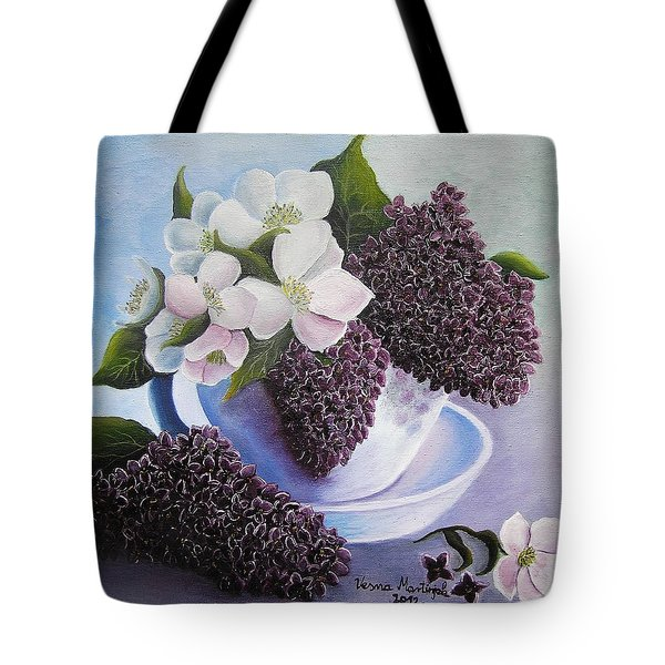 Feel The Fragrance Tote Bag