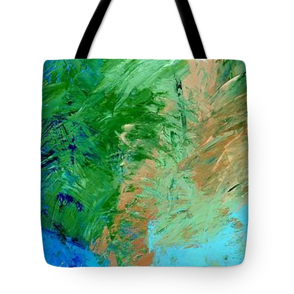 Feel The Tropical Breeze Tote Bag