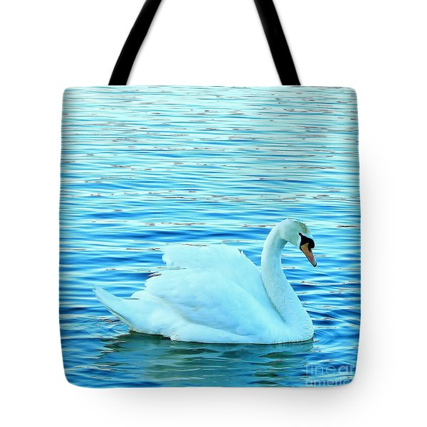 Feeling Blue Tote Bag