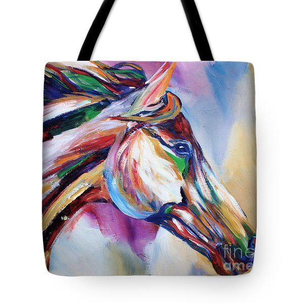Feeling The Wind Tote Bag by Cher Devereaux