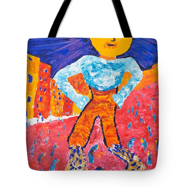 Feet Of Clay Tote Bag