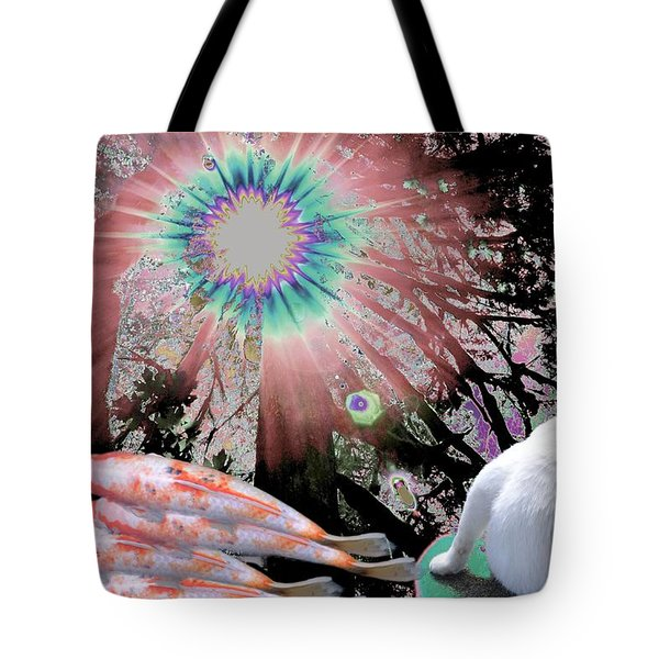 Feline Utopia Tote Bag