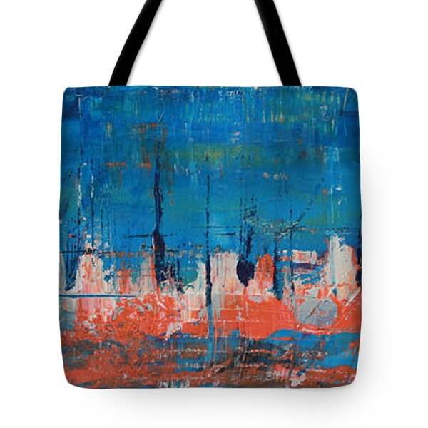 Tote Bag featuring the painting Felulukas by Lucy Matta