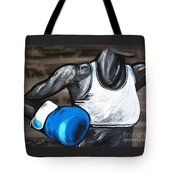 Female Boxer Tote Bag