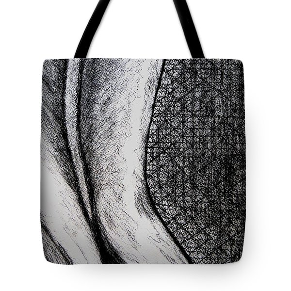 Female Nude The Backside Tote Bag