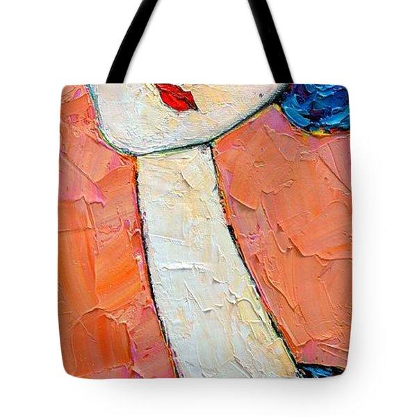 Femininity Tote Bag by Ana Maria Edulescu