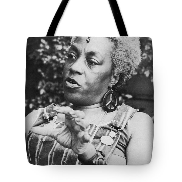 Feminist Florynce Kennedy Tote Bag