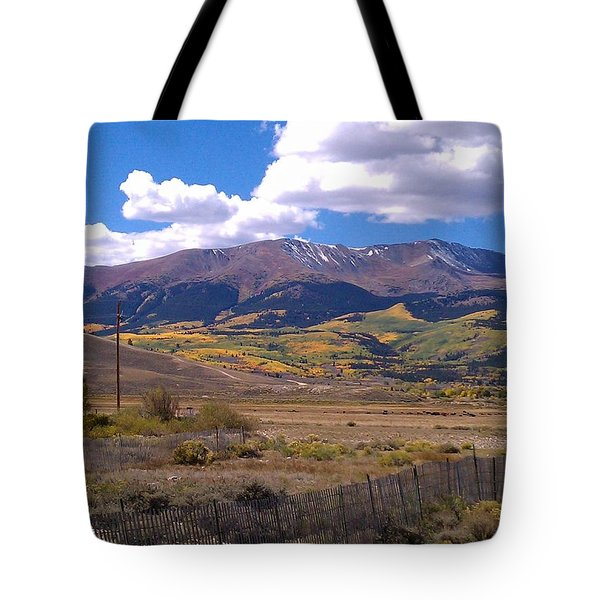 Fenced Nature Tote Bag
