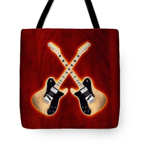 Fender Telecaster Custom Tote Bag by Doron Mafdoos