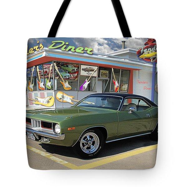 Fenders Diner Tote Bag