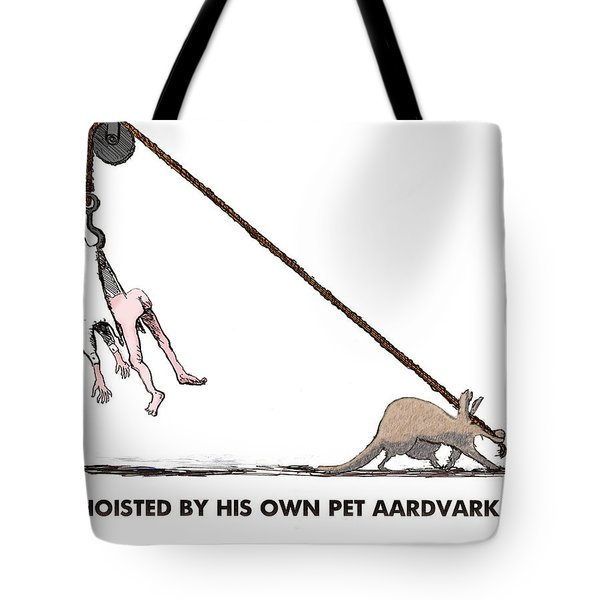 Feral Coot And His Aardvark Tote Bag