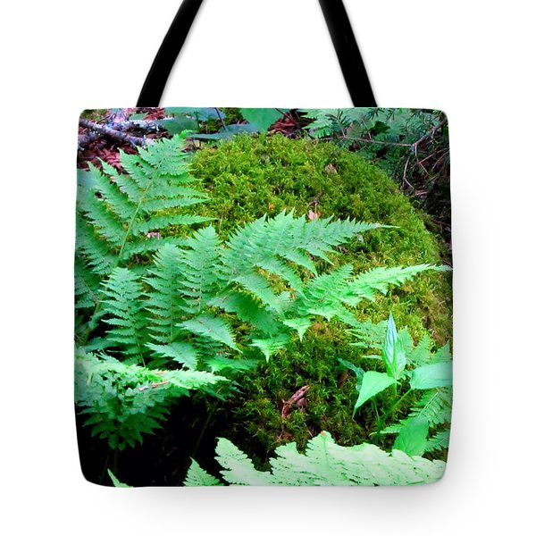 Fern And Moss Tote Bag