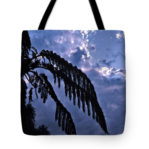 Fern At Twilight Tote Bag