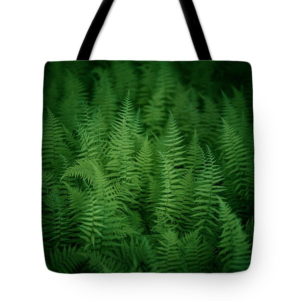 Fern Bed Tote Bag