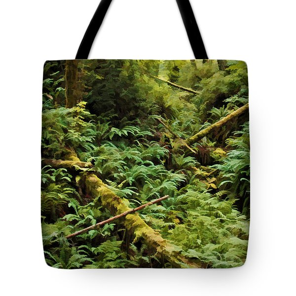 Fern Hollow Tote Bag by Richard Farrington