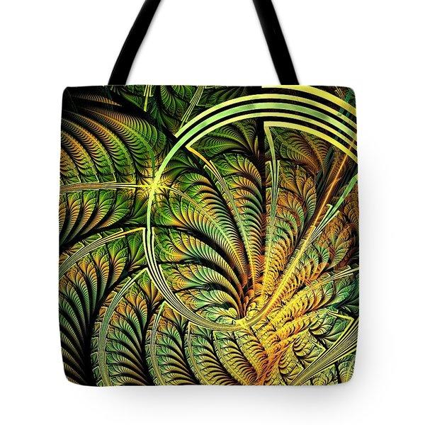 Fern Loop Tote Bag by Anastasiya Malakhova